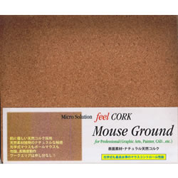 その他 feel CORK Mouse Ground for Professional