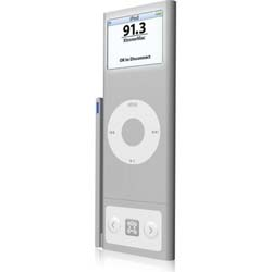 [FMトランスミッタ]Xtreme Mac AirPlay Boost for iPod nano 2G シルバー(IPN-APN-24)詳細へ